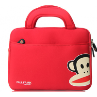 Paul Frank Laptop Sleeve-Red/Black